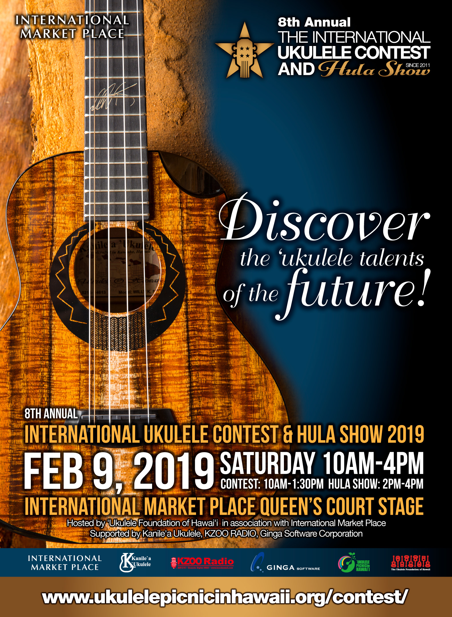 the international ukulele contest and hula show official website