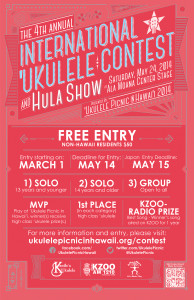 2014 International Ukulele Contest and Hula Show